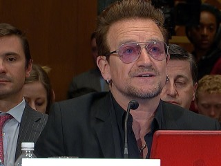 Bono Calls on Congress for 'Big Ideas' Amid Europe's Refugee Crisis