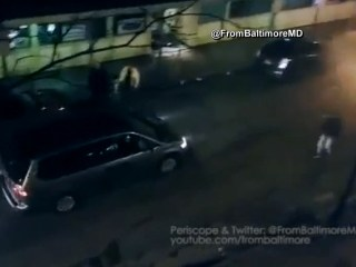 Camera Captures Hit-and-Run Rampage