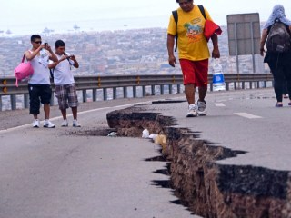 Earthquake Damages Chilean Infrastructure