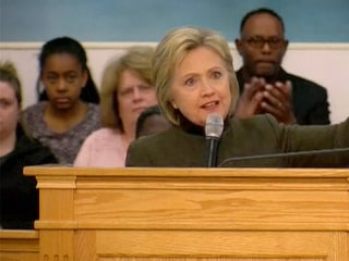 Hillary Clinton In Flint: 'Clean Water is not a Luxury'