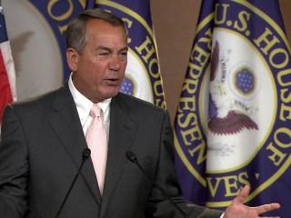Boehner Erupts Over Obama's Handling of Border