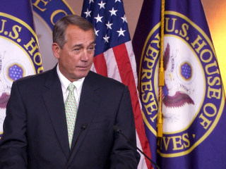 Love Is in the Air: Boehner Wishes Media Happy Valentine's Day