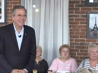 Jeb Bush Downplays His Poll Numbers in October