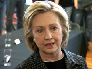 Clinton Wants State Dept. to 'Move As Quickly As They Possibly Can' on Emails