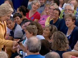 Boy Asks Hillary Clinton 'What Is the Most Important Part of Life?'