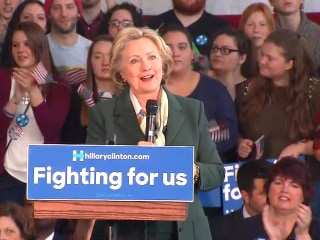 Clinton Not Quite Ready to Drop Sanders' Qualified Remarks