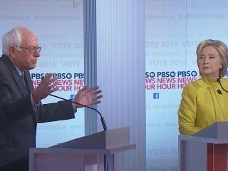 Sanders, Clinton Trade Jabs on Health Care