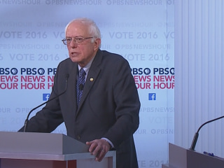 Sanders: A Sanders Victory Would Be 'Historical Accomplishment'