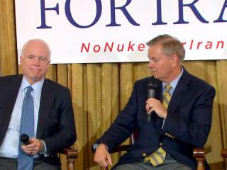Graham Defends McCain, Responds to Trump's POW Comments