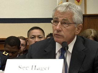 Hagel: 'We Could Have Done a Better Job' Alerting Congress