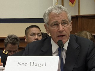 Hagel Has Prickly Exchange With Congressman Over Bergdahl