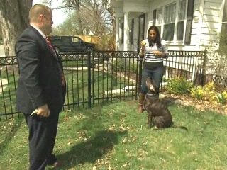Meet the Iowa Couple and Their Dog From the Hillary Clinton Announcement Video