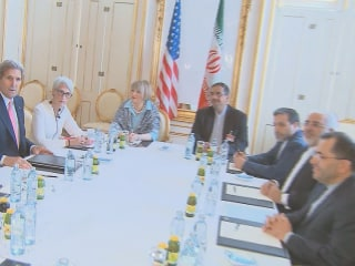 Kerry at Negotiating Table: 'Very Tough Issues' Facing Iran Nuclear Talks