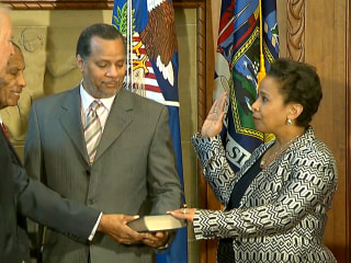 Loretta Lynch Sworn in As Attorney General