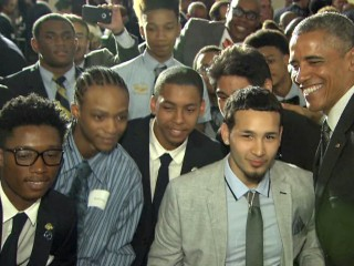 Obama: Black, Latino Young Men Focus Of 'My Brother's Keeper Alliance'