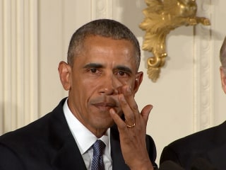 Obama in Tears During Gun Control Speech