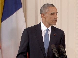 Fiery Obama Says 'Americans Will Not Be Terrorized'