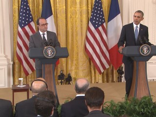 Obama: France, U.S. Stand in 'Total Solidarity'