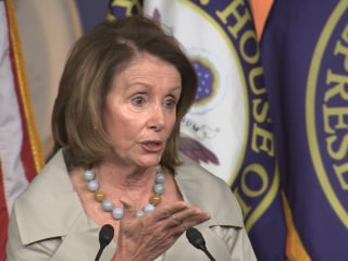 Pelosi Spars With Man Over Unborn Baby Question