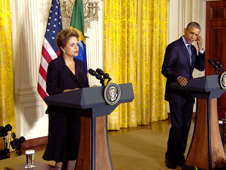 Brazil's Rousseff Says U.S. Spying Scandal Is Behind Her