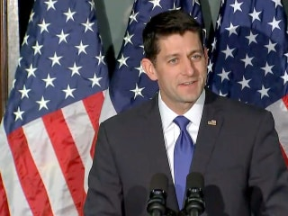 Paul Ryan Says 'Count Me Out' of 2016 Race