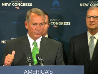 Boehner Stern in His Defense of Scalise