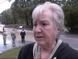 S.C. Woman Talks of Starting 'All Over Again' After Flooding