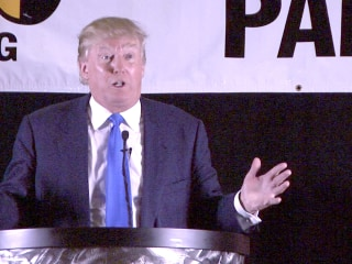 Trump Has Harsh Words for Bush at GOP Event