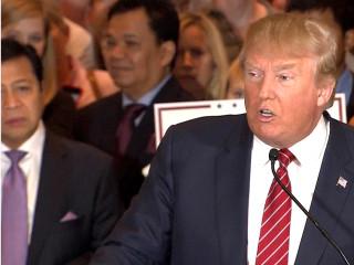 Trump: I Want a 'Big, Fat, Beautiful, Open Door' for Legal Immigrants
