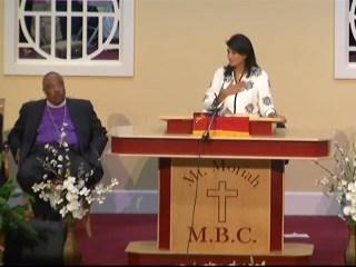 SC Gov. Haley: Sharonda Singleton Helped Teach America Forgiveness
