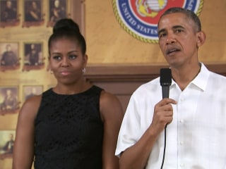 Obama: 'We Never Take Soldiers For Granted'