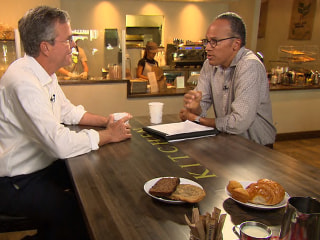 Watch Lester Holt's Complete Interview With Jeb Bush