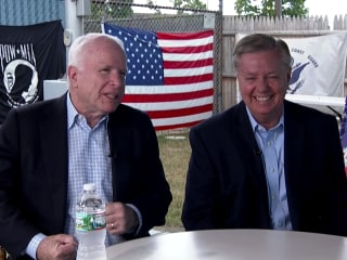 McCain's Campaign Advice to Graham:  Be Yourself