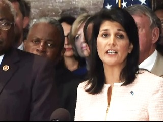 Gov. Haley: 'It's Time to Remove the Flag from the Capitol Grounds'