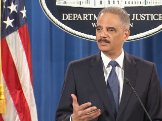 Holder: Facts Don't Support Criminal Charges Against Officer Wilson