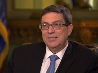 Cuban Foreign Minister: Embassy Reopening a Special Moment