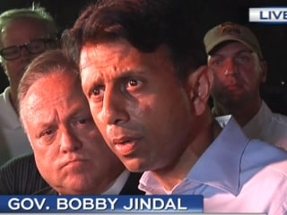 Louisiana Governor Jindal Calls for Prayers After Theater Shooting