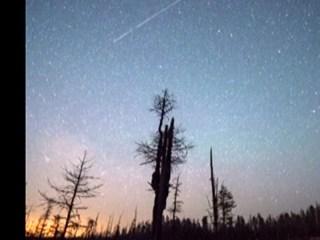 Annual Lyrid Meteor Shower Lights Up Night Sky