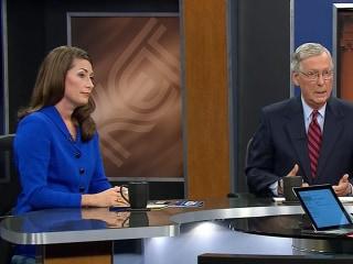 Sen. McConnell and Challenger Grimes Spar Over Obamacare