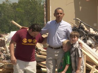 Obama to Tornado Victims: You Are Not Alone