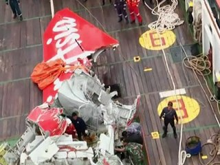 AirAsia tail section recovered
