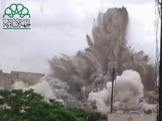 Huge Blast Rocks Aleppo, Syria