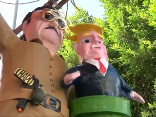 'El Chapo'-Donald Trump Piñatas Are a Hit in Mexico
