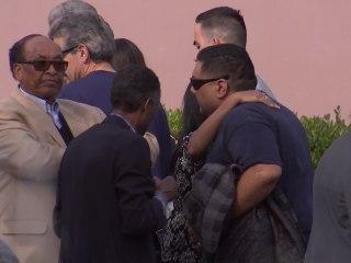 Victims' Families Return to Scene of San Bernardino Attack