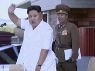 Kim Jong Un Watches North Korean Air Force Aerial Competition