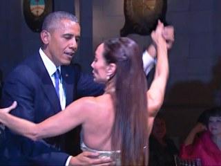 President Obama Does The Tango