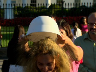 'Rubble Bucket Challenge' Comes to White House