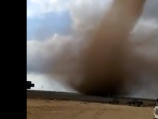 Caught on Camera: Tornado Touches Down in West Texas