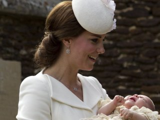 See Princess Charlotte on Her Christening Day