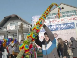 Polish Villagers Compete in Easter Tradition